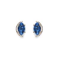 Kendra Scott Marie Earrings in Crackle Blue Agate