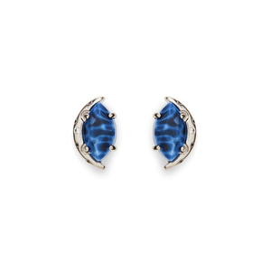 Kendra Scott Marie Earrings in Crackle Blue Agate