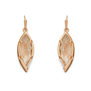 Kendra Scott Max Earrings in Gold Dusted Glass