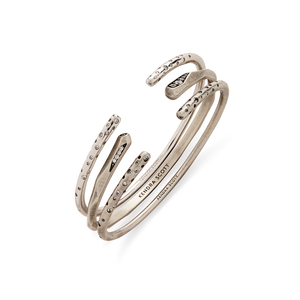 Kendra Scott Zorte Bangles in Antique Silver with Pavé