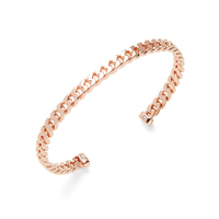 Shashi Lauren Cuff in Rose Gold