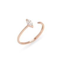 Shashi Jewel Ring in Rose Gold