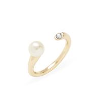 Shashi Mona Ring in Gold