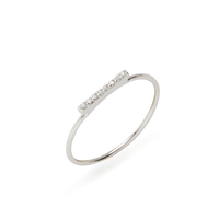 Shashi Tracy Ring in White Gold
