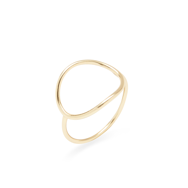 Shashi Natalie Ring in Gold
