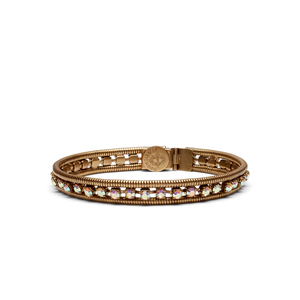 Loren Hope Clara Mini Bracelet in Iridescent