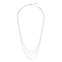 Gorjana Joplin Layered Necklace in Silver