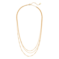 Gorjana Joplin Layered Necklace in Gold