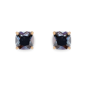 Kate Spade Square Studs in Grey