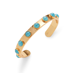 Kate Spade Turquoise Tag Along Stone Cuff