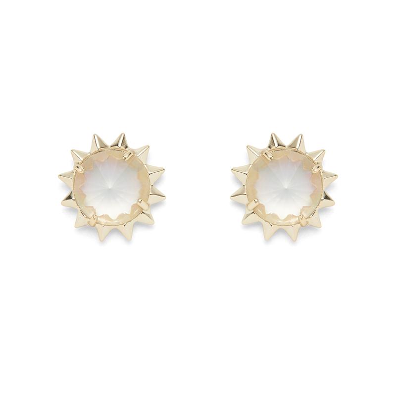 Kendra Scott Irene Earrings in Gold Iridescent