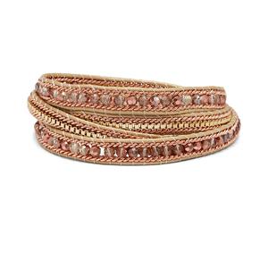 Nakamol Rose Gold and Gold Wrap Bracelet