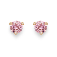 Kate Spade Rise and Shine Small Studs in Light Rose