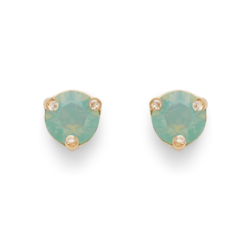 Kate Spade Rise and Shine Small Studs in Pacific Opal