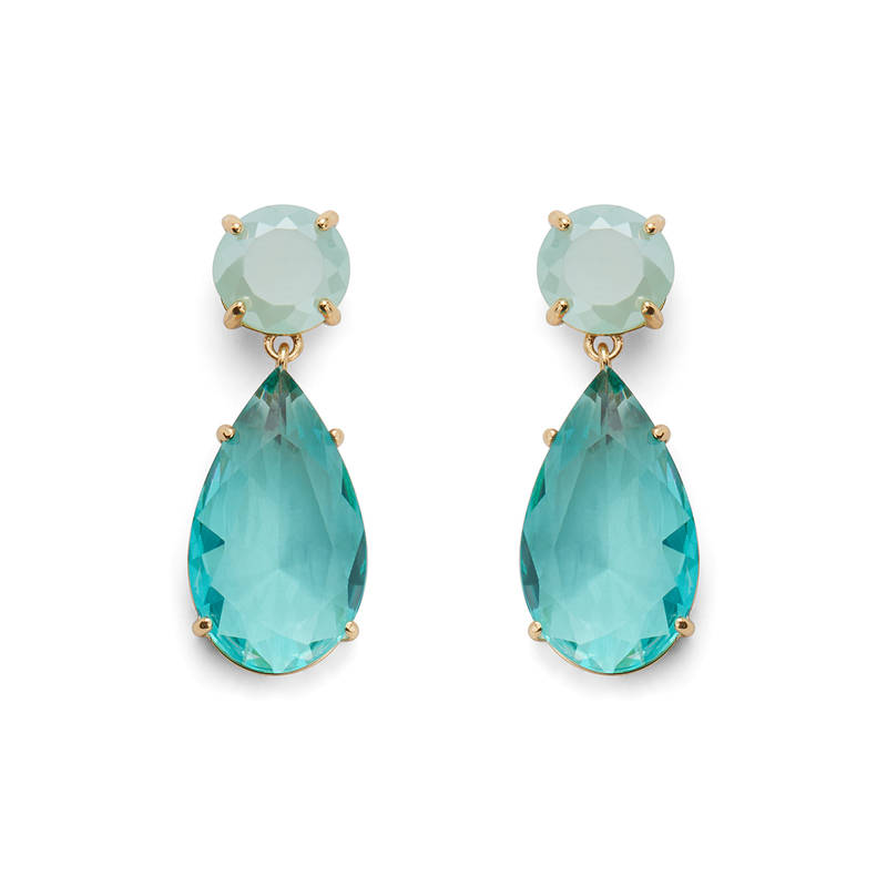 Kate Spade Here Comes the Sun Drop Earrings in Turquoise