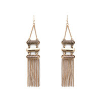 Aster Quince Fringe Earrings