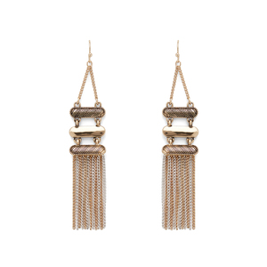 Aster Quince Fringe Earrings