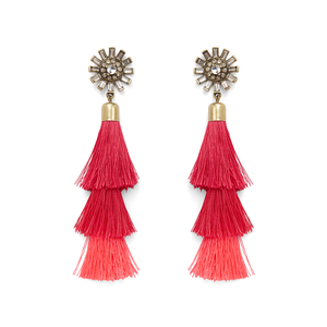 Perry Street Astera Fringe Earrings