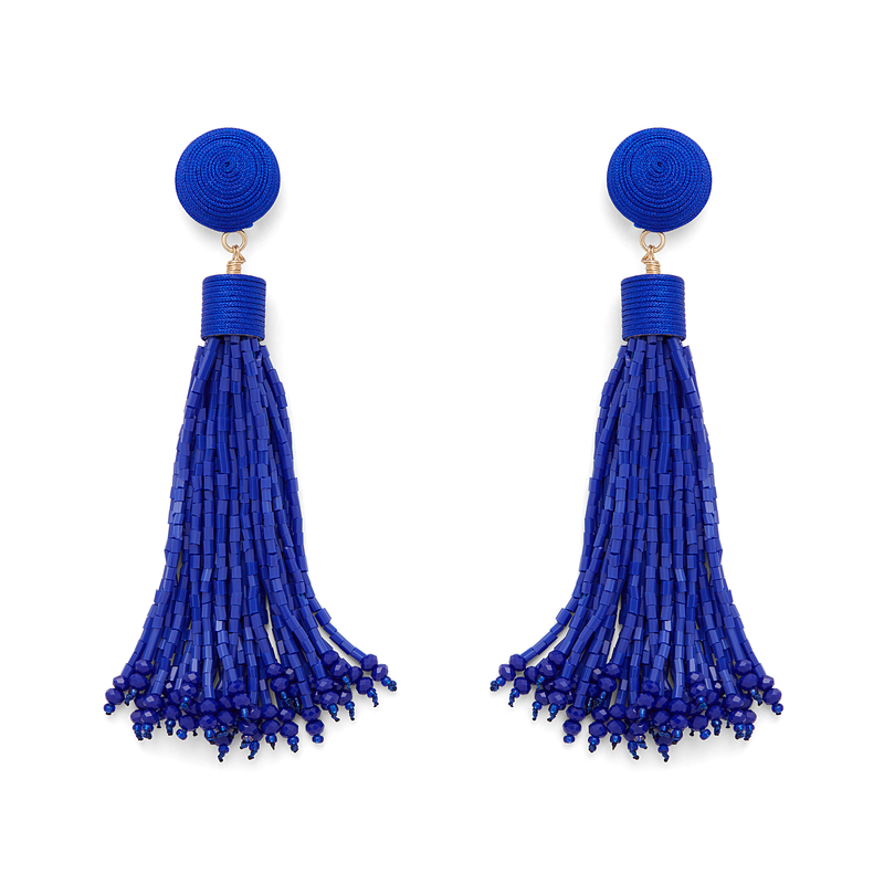 Perry Street Willa Earrings in Cobalt