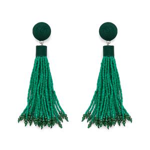 Perry Street Willa Earrings in Green