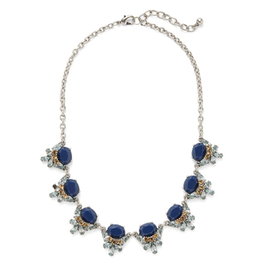 Perry Street Faye Statement Necklace in Silver