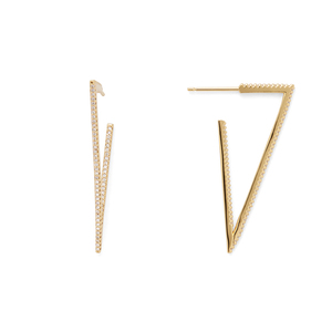 Rudiment Alcatraz Hoops in Gold