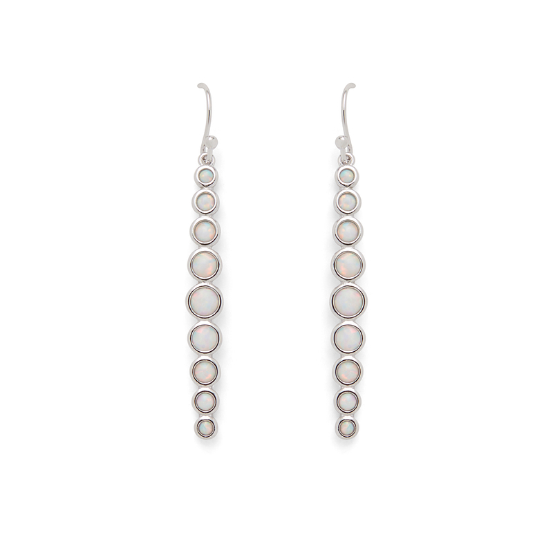 Rudiment Fillmore Earrings in Silver