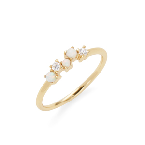 Rudiment Nopa Ring in Gold