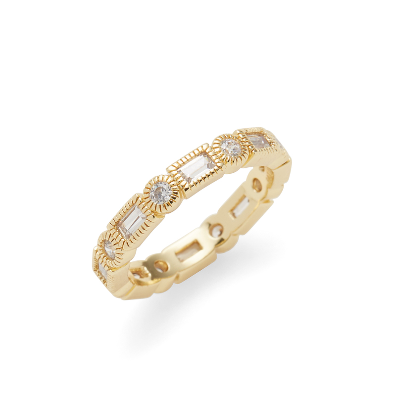 Rudiment Tartine Ring in Gold