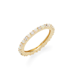 Rudiment Pixley Ring in Gold