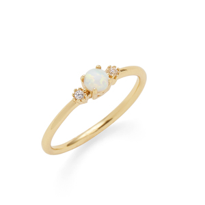 Rudiment Liho Liho Ring in Gold