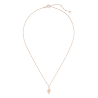 Sophie Harper Cactus Necklace in Rose Gold