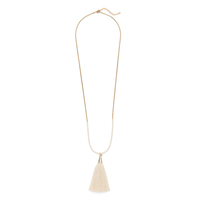 Aster Hyacinth Pendant in Cream