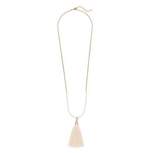 Aster Hyacinth Pendant in Cream