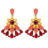 Kate Spade Brilliant Bouquet Drop Earrings