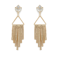 Perry Street Carli Statement Drops in Gold