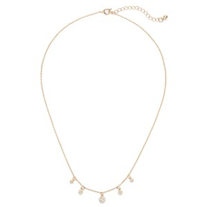 Sophie Harper Pavé Disc Necklace