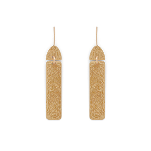 Aster Yarrow  Drop Earrings in Gold