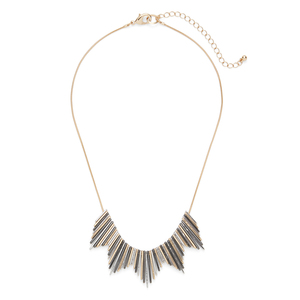 SLATE Helios Necklace in Mixed Metal
