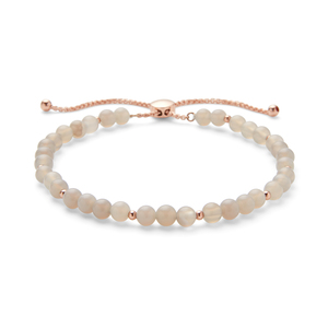 Aster Fleur Bracelet in Labradorite and Rose Gold
