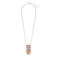 Aster Protea Pendant Necklace