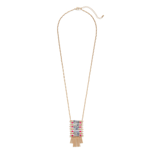 Aster Protea Pendant Necklace