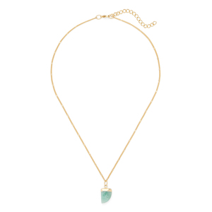 Aster Aloe Necklace in Amazonite