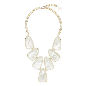 Kendra Scott Harlow Necklace in Ivory Mother of Pearl