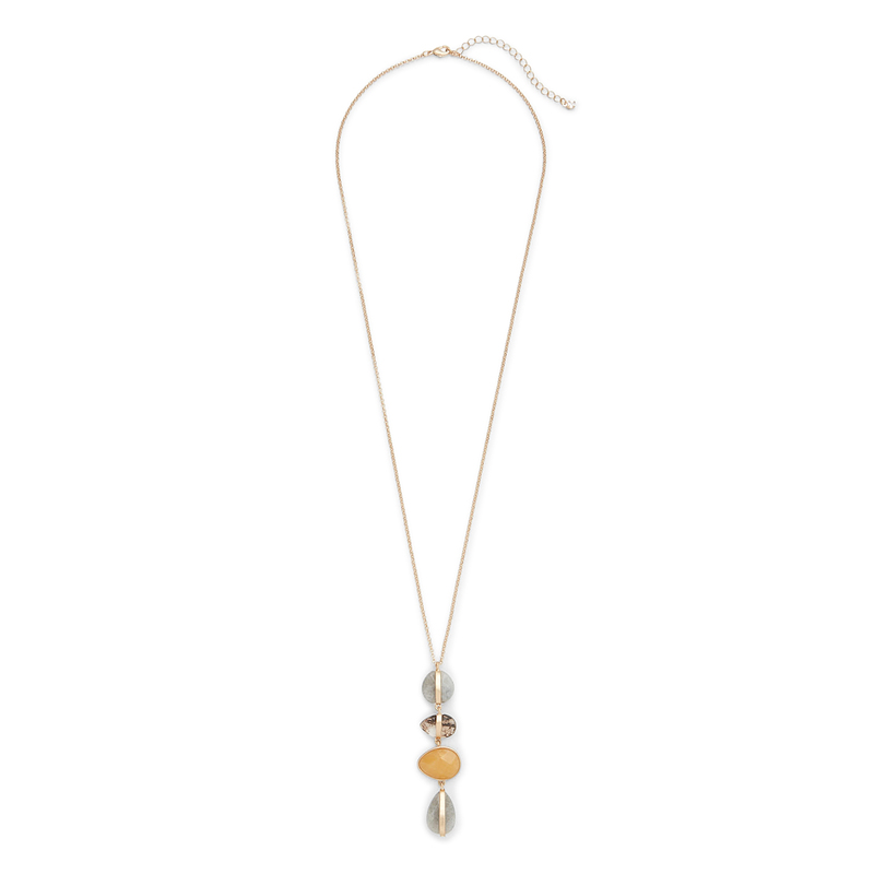 Aster Blossom Pendant Necklace