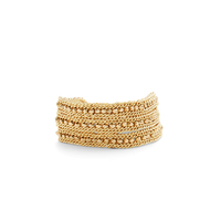 Nakamol Gold Beaded Wrap