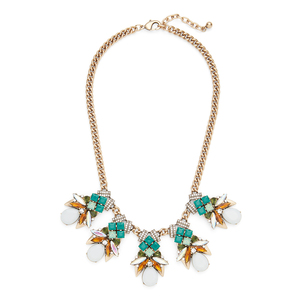 Perry Street Ariel Statement Necklace in Gold