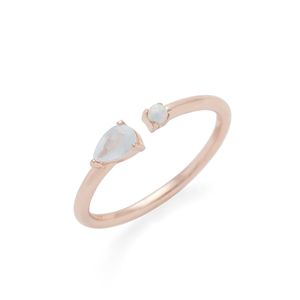 Rudiment Minna Ring in Rose Gold