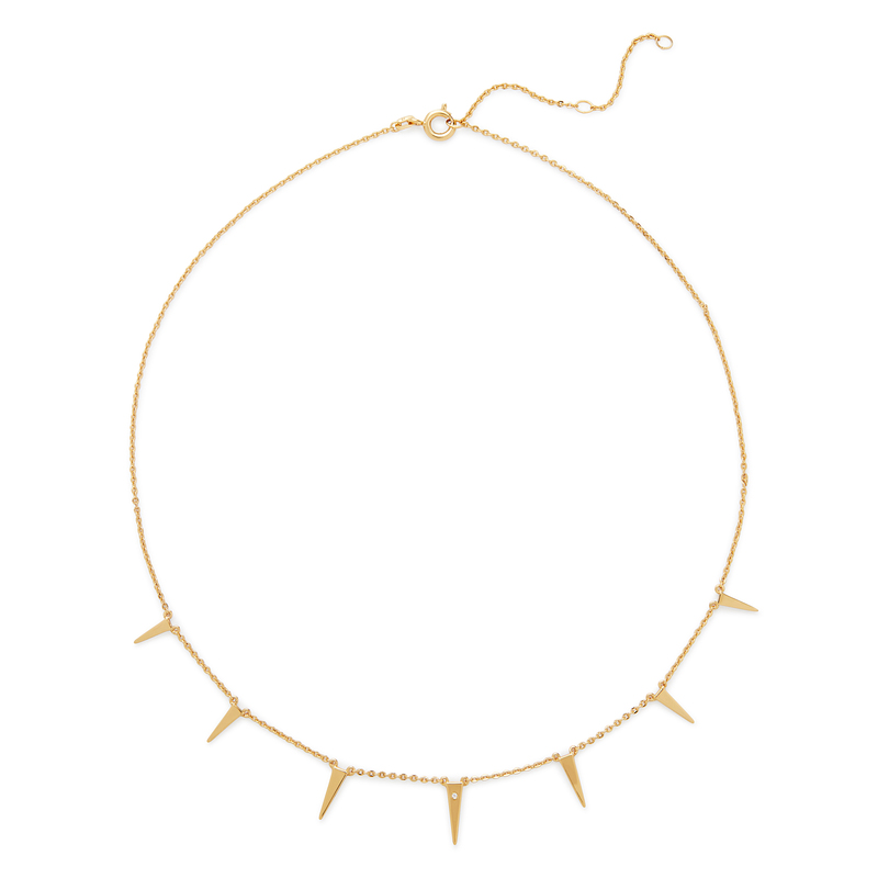 Rudiment Coit Necklace in Gold