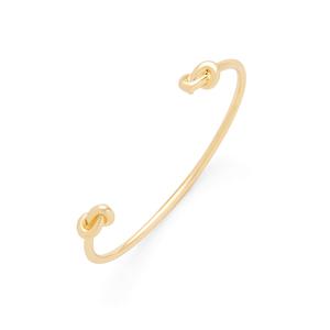 Sophie Harper Knot Cuff in Gold